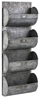 Williston Forge Rondeau Galvanized Iron Wall Shelf Williston Forge