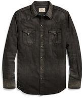 Polo Ralph Lauren Cotton-Linen Western Shirt