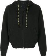 Alexander Wang drawstring hooded jacket
