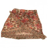 Free People Multicolour Cotton Skirts