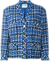 Chanel Vintage Veste En Tweed À