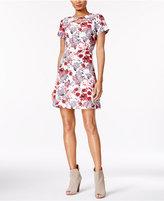 Kensie Printed A-Line Dress