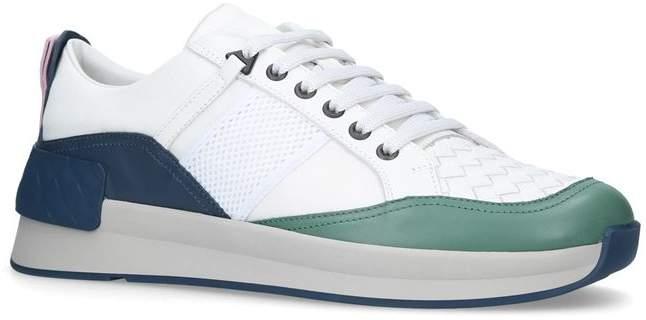 Bottega Veneta Leather Grand Sneakers