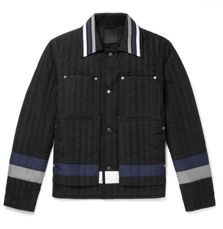 Craig Green Colour-Block Quilted Shell Jacket
