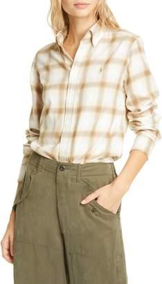 Polo Ralph Lauren Georgia Plaid Flannel Button-Down Shirt