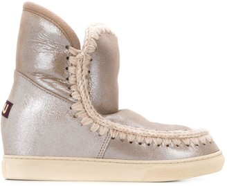 Mou Eskimo wedge ankle boots