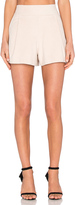 1 STATE Flat Front Suede Short