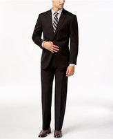Tommy Hilfiger Slim-Fit Solid Black Suit