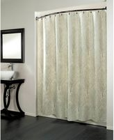 Bed Bath & Beyond Forest 70-Inch x 72-Inch Fabric Metallic Print Shower Curtain