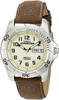 Timex Men's EXPEDITION® Brown Leather Strap Watch #T46681