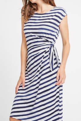 Sportscraft Mya Stripe Wrap Dress