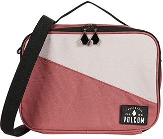Volcom Brown Bag Lunch Box (Dust Red) Bags