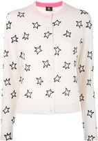 Paul Smith star patterned cardigan - women - Wool - S