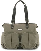 Timi & Leslie Jet Setter Tote Diaper Bag in London Graphite