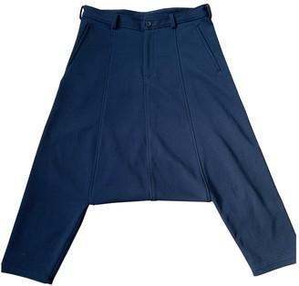 Comme des Garcons Black Polyester Shorts