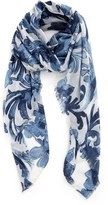 Nordstrom Women's 'Antique Damask' Print Scarf