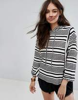 Moon River Stripe Jumper With Tie Details