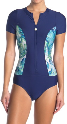 Next Staycation Zip One-Piece Swimsuit