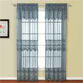 UNITED CURTAIN CO United Curtain Co Valerie Rod-Pocket Curtain Panel