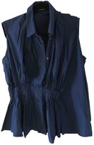 Viktor & Rolf Blue Cotton Top for Women