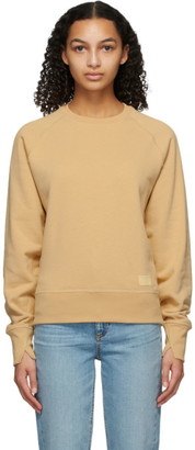 Rag & Bone Beige Fleece Sweatshirt