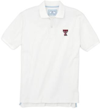 Southern Tide Texas Tech Pique Polo Shirt