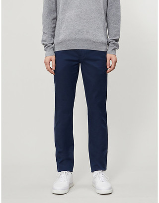 Ted Baker Textured straight-leg trousers