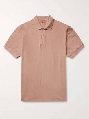 Bellerose Cotton And Linen-Blend Jersey Polo Shirt