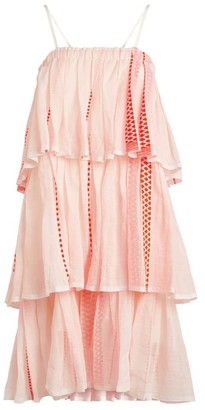 Lemlem Jemari Tiered Mini Dress