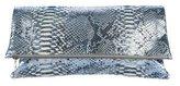 Hayward Metallic Python Clutch