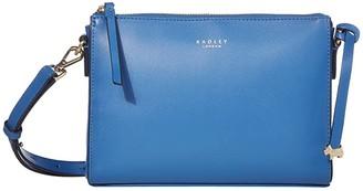 Radley London Selby Street - Small Zip Top Crossbody (Flame) Handbags
