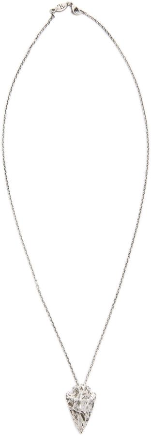 Pamela Love Mini Arrowhead Pendant Necklace