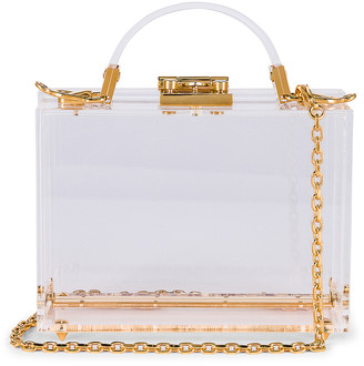 Mark Cross Grace Plexi Box Bag in Clear | FWRD