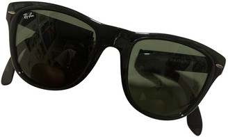 Ray-Ban Original Wayfarer Black Plastic Sunglasses