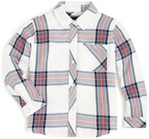 Rails Little Girls' Large Scale Plaid Button Down Shirt - Sizes 4-10