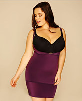 Yours Clothing Purple Underbra Smoothing Slip Dress With Firm Control