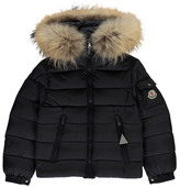 Moncler Byron Parka with Fur Hood
