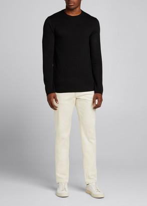 Theory Men's Arnaud Erhart Wool Crewneck Sweater