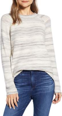 Caslon Space Dye Roll Neck Sweater