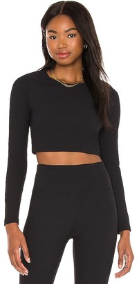 YEAR OF OURS Thermal Nancy Crop Top