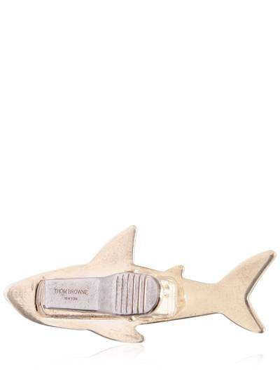 Thom Browne Shark Sterling Silver Tie Clip