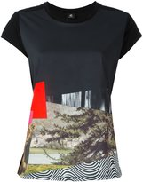 Paul Smith diagonal printed T-shirt