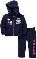 True Religion Active Hoodie & Sweat Pant 2-Piece Set (Baby Boys)