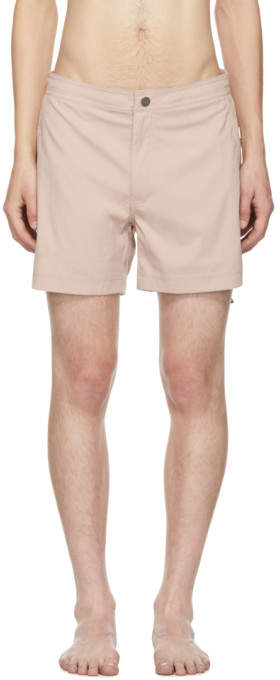 Onia Pink Calder Swim Shorts
