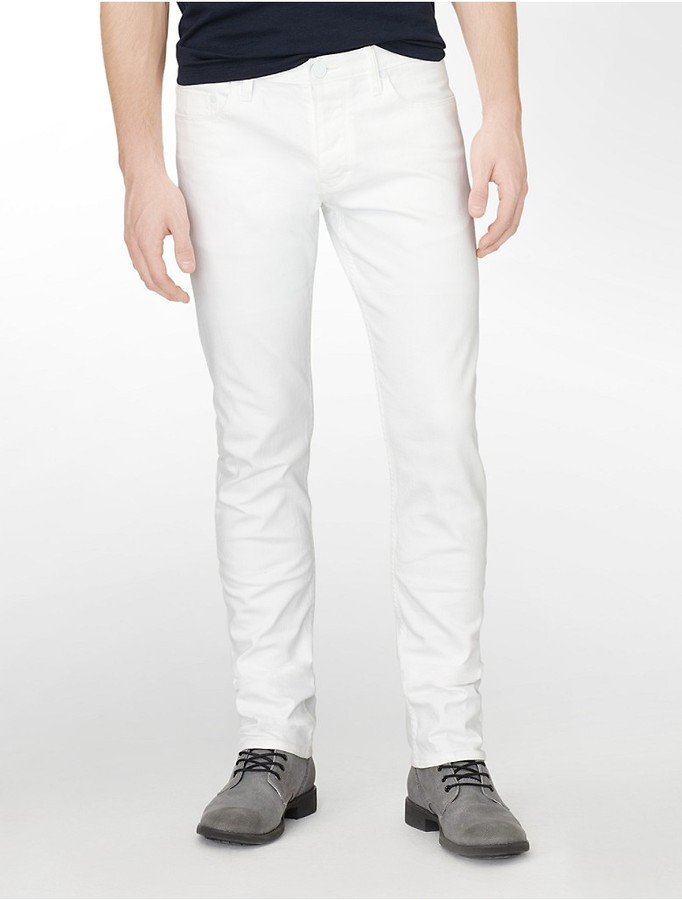 Calvin Klein Skinny Colored Wash Jeans