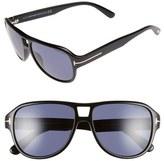 Tom Ford 'Dylan' 57mm Aviator Sunglasses