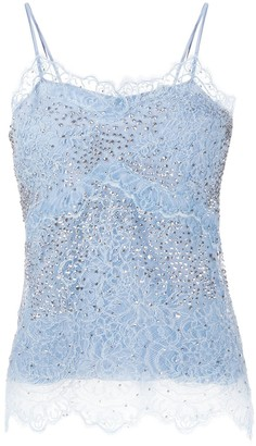 Ermanno Scervino Floral Lace Camisole Top
