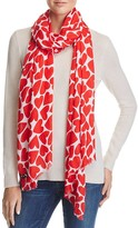 Kate Spade Heart To Heart Scarf