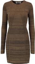 Sonia Rykiel Knitted cotton-blend sweater dress