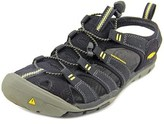 Keen Clearwater Cnx Women Round Toe Canvas Black Fisherman Sandal.